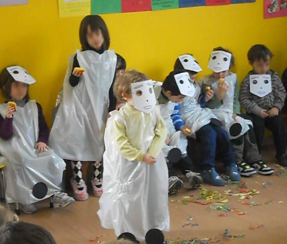 I bambini mascherati da MecWilly